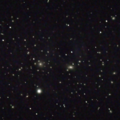 coma cluster Stack 23 frames x15 s,  C8@ f/6.7, ASI294 @ gain 350.  Astronomics CLS LP filter