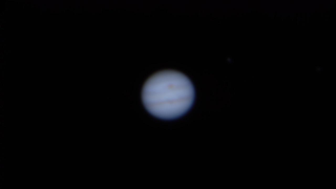 Jupiter after stacking in AutoStakkert!2
