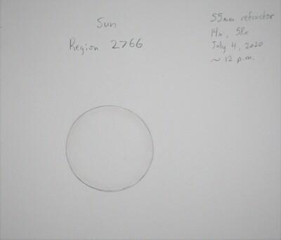 Sunspot Region 2766