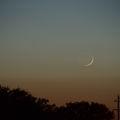 First sighting after New Moon - Age (1 day 6 hours 49 mins)