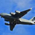 C-17 on approach to Redstone