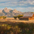 Teton Range from Mormon Row - GTNP