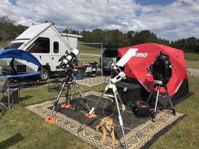 my set up at ECVAR 2019