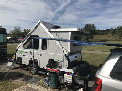 My ECVAR camping set up