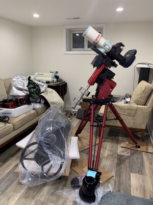 Dave's astronomy mancave