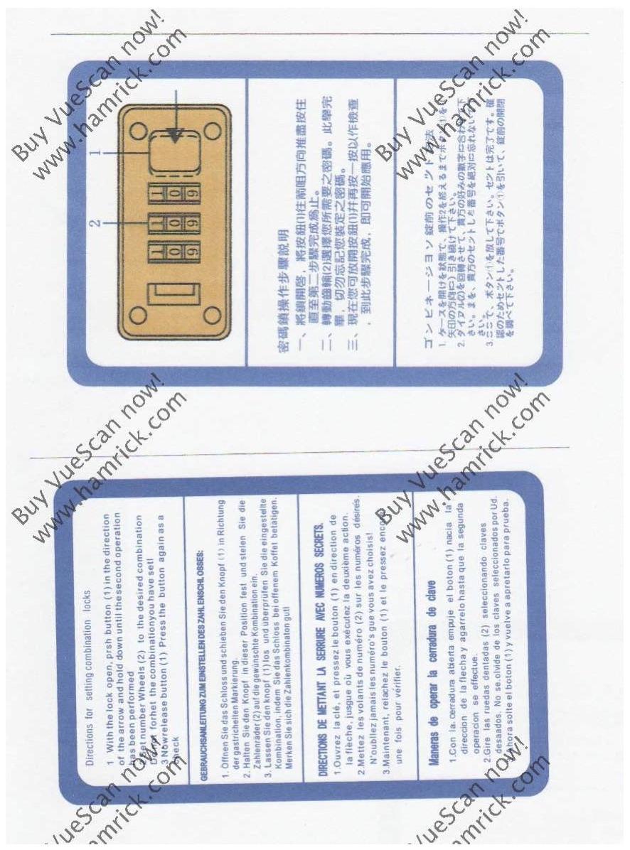 QuestarCaseLock - Questar Case Lock Instructions - Photo