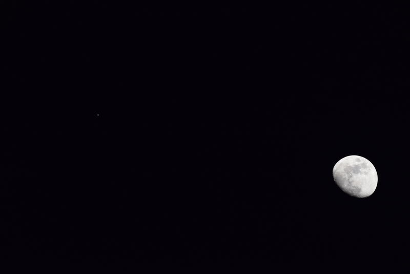 Moon And Jupiter (10)