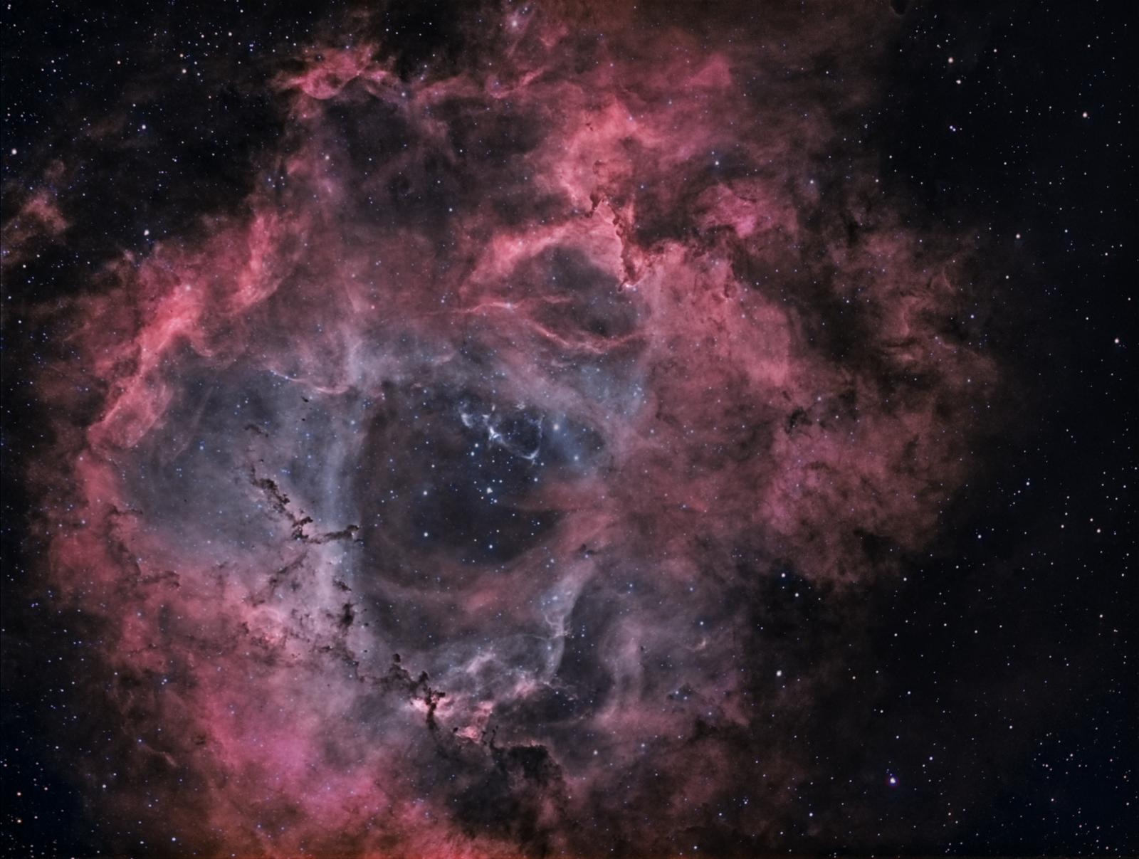 NGC 2244 In Bi-Color (NB)