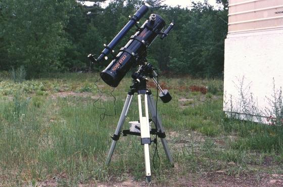 """Blast from the past! My old Celestron C-130 5.1"""" f/5.5 Newtonian"""