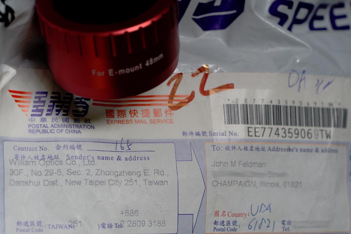 WO Redcat M48 Sony-E Adapter