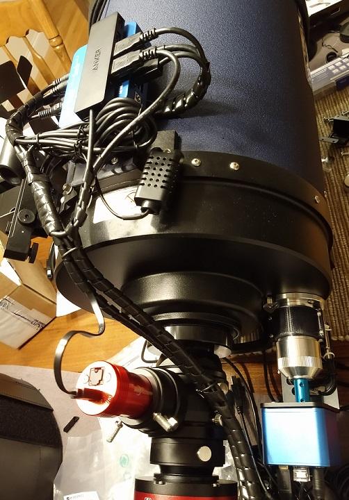 "Meade 10"" LX850 Pegasus Astro Powerbox Advanced and FocusCube"
