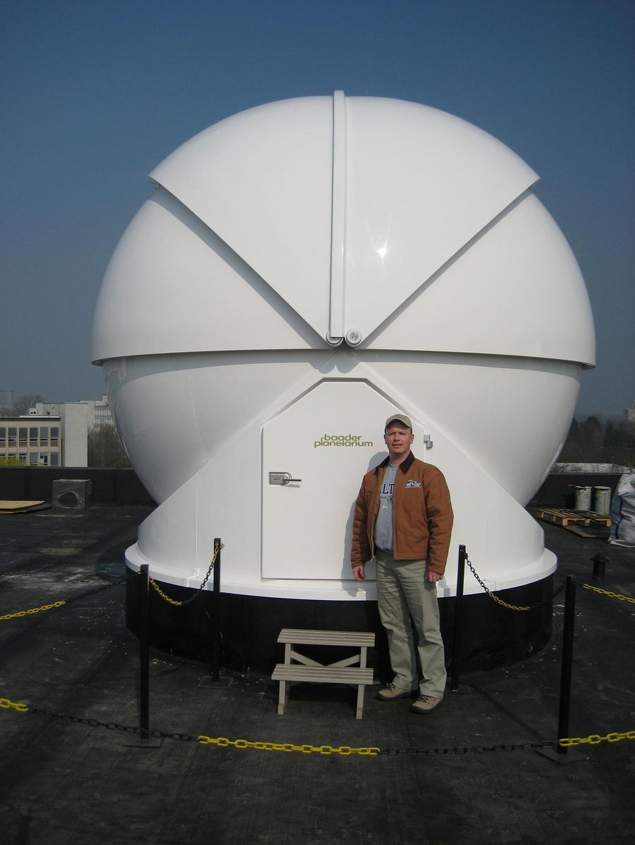 baader planetarium all sky dome equipment photos photo. Black Bedroom Furniture Sets. Home Design Ideas