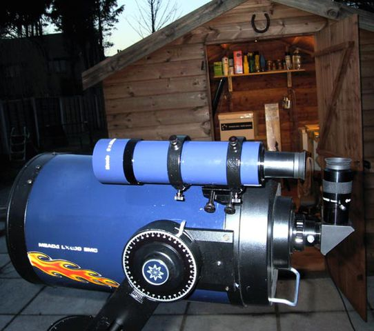 LX200 with Magic Finderscope