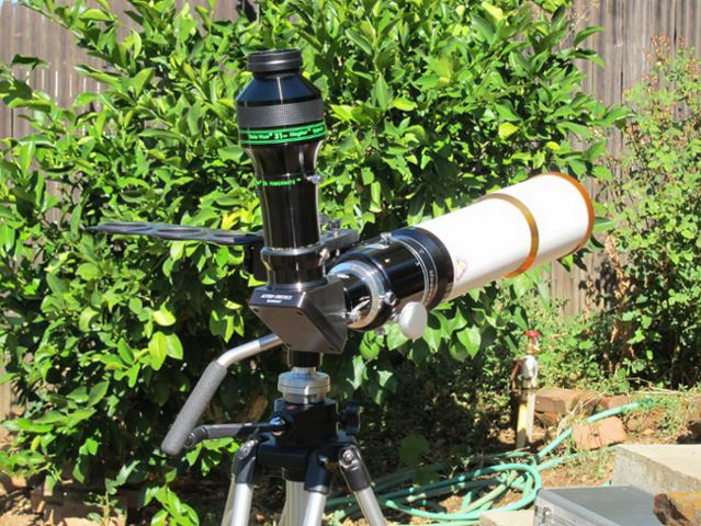WO Megrez 80 ED Triplet with Eyepiece and Powermate
