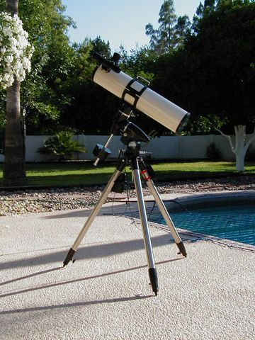 Intes Micro MN56 and Orion SVP Mount