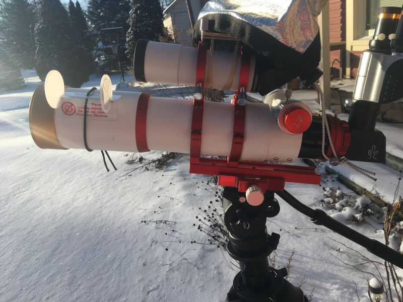 Z73 configured for solar and binoviewers