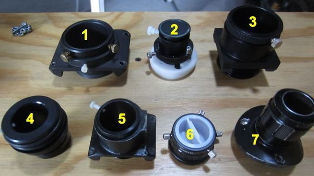 Helical focusers