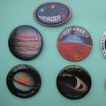 NASA Voyager pins