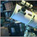 8 in. Reflector, 8x50 finder w/illum rectice.