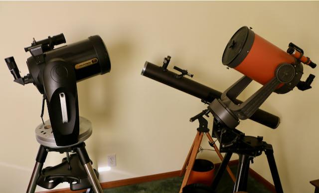 Celestron CPC 800 50th Anniversary,Criterion Dynascope, Celestron C8
