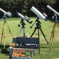 Four Zeiss Telescopes