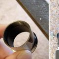 binoviewer eyepiece modification, 2nd of 3 images