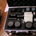 Denk hard case with 4 eyepieces