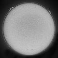 H-alpha Sun Single Exposure June 29, 2020 Moore, South Carolina