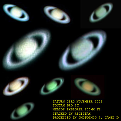 saturn collection