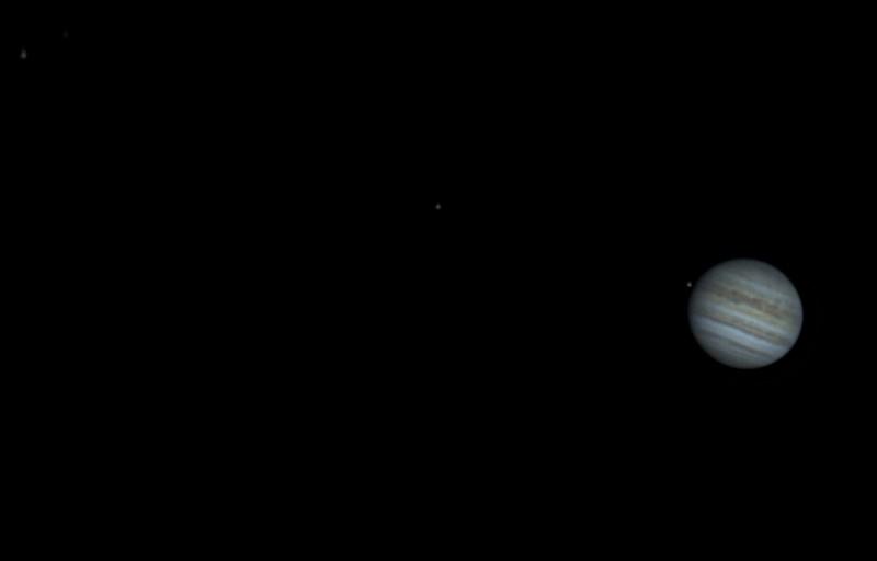 Jupiter and Galilean Moons 10/15/20