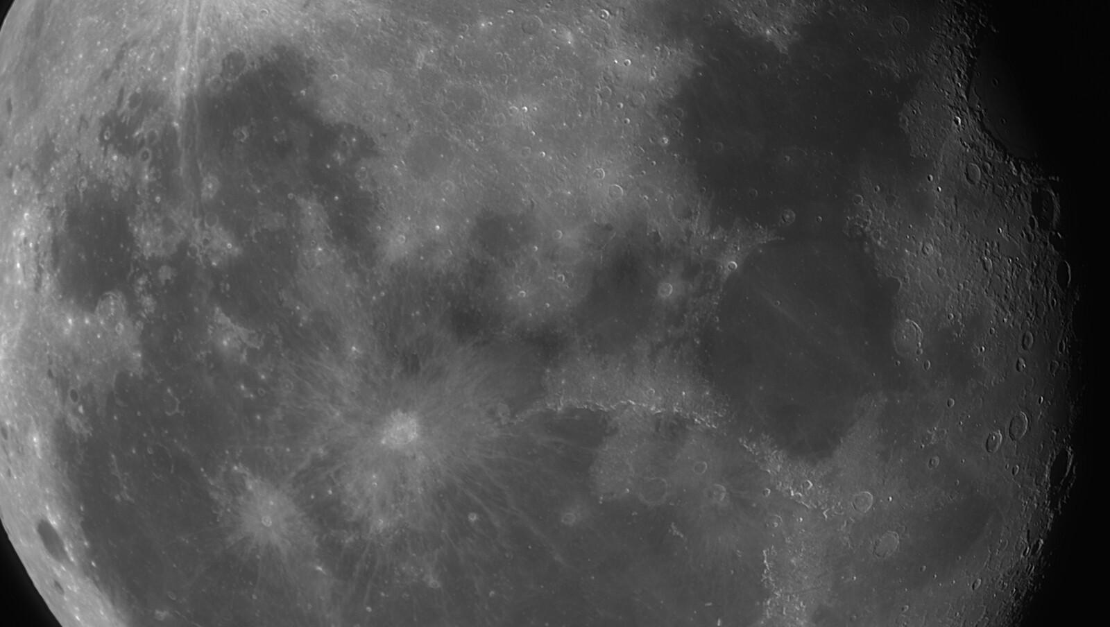 Moon, ES AR102mm