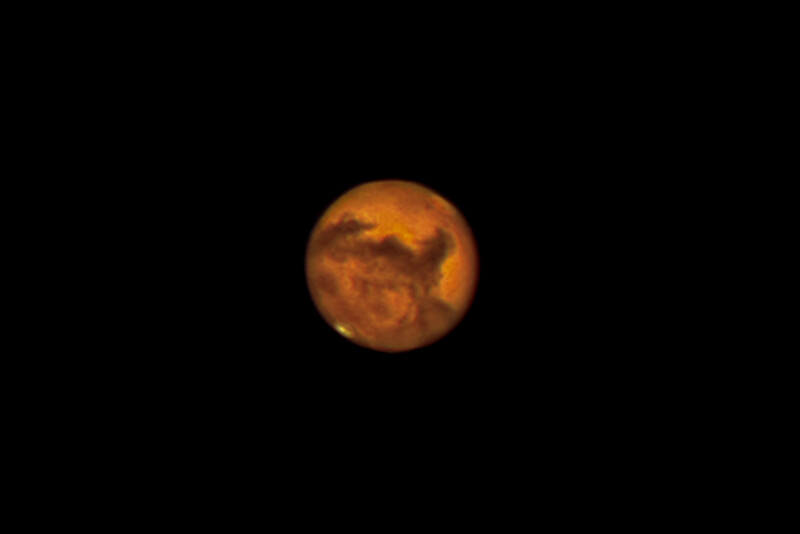Mars at opposition.
