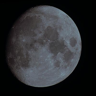 T7i WO GT71 2x Barlow Moon