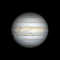 2021_07_21 Jupiter, Callisto's shadow and Red Spot