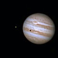 Jupiter,GRS, Io and its shadow