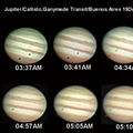 Callisto Ganymede Transit