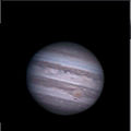 Jupiter with GRS and Dark Spot