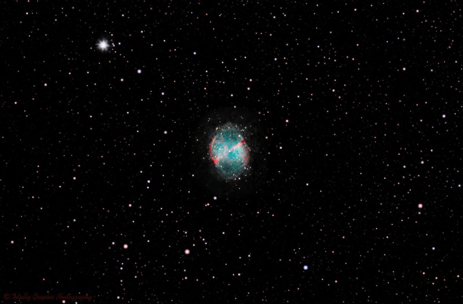 M27 The Dumbbell Nebula