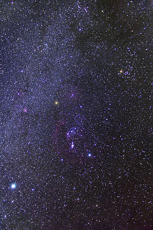 Orion Milky Way