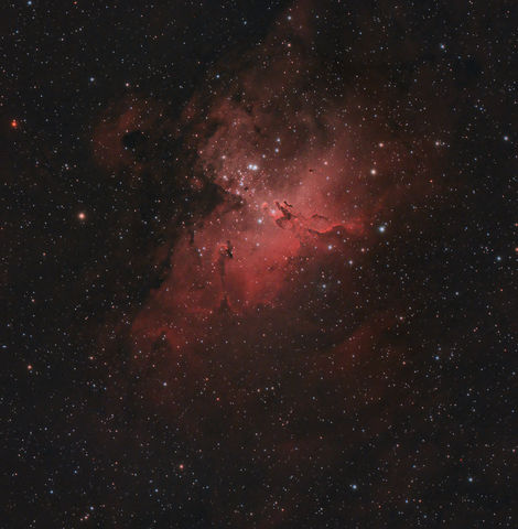 M16 The Eagle Nebula 7-2-2011
