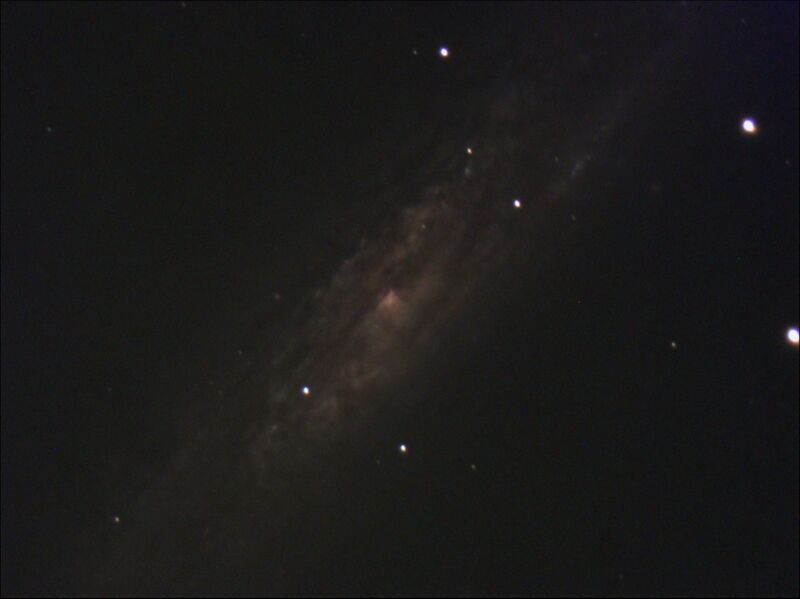 Stack 34frames 544s WithDisplayStretch Ngc 253