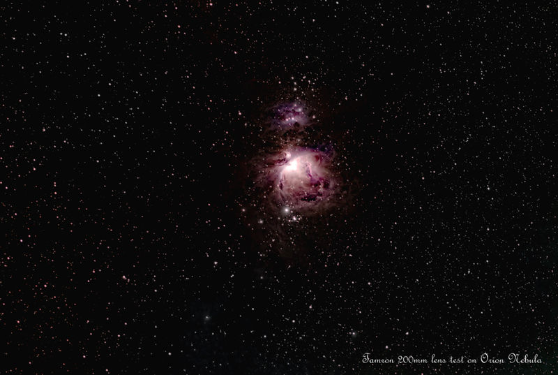 orion test Tamron 80-200mm zoom lens