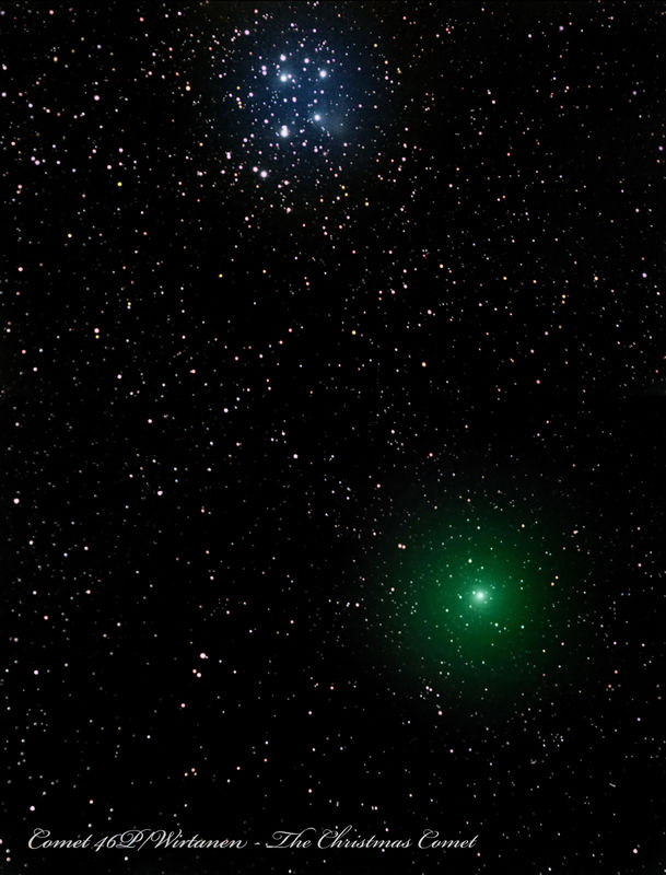 Christmas Comet.2018 Christmas Comet Deep Sky Photo Gallery Cloudy Nights