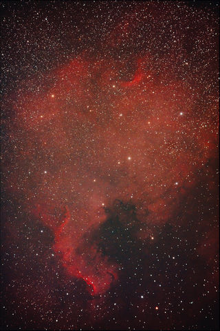 NGC7000 - North American Nebula