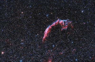 Eastern Veil Nebula (NGC 6992)