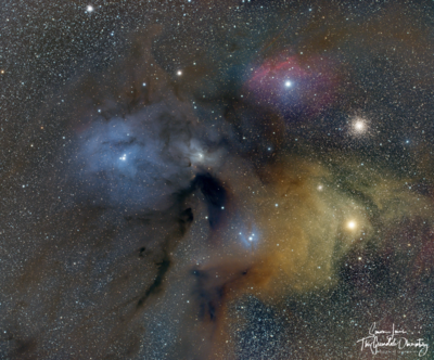 Rho Ophiuchi - FRA400 with focal reducer @ f3.9
