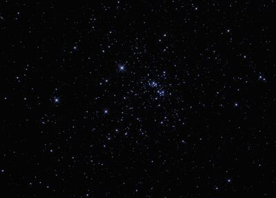 NGC869 Double Cluster Photoshop