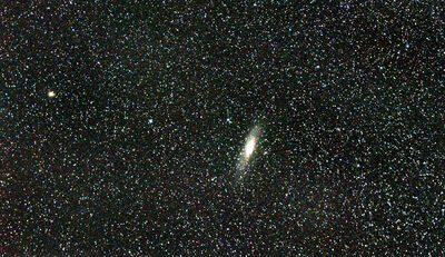 My first image of m31!