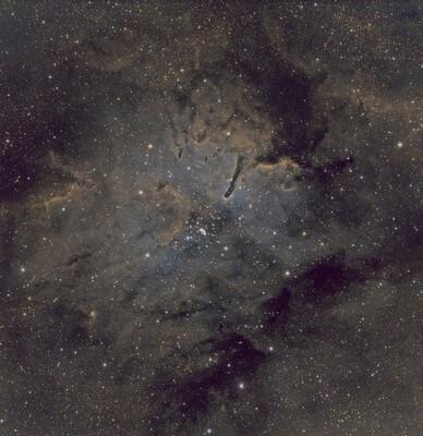 NGC6823 FS128 Flat G11G QHY268M Seeing Avg Trans Avg 45SF SHO 300s 56G 25O  5C And  10C 06282021