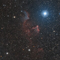 Ghosts of Cassiopeia (IC 59, IC 63)